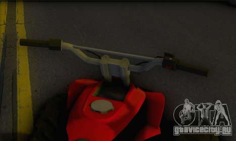 Quad from GTA 5 для GTA San Andreas вид сзади слева