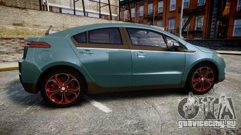 Chevrolet Volt 2011 v1.01 rims2 для GTA 4 вид слева