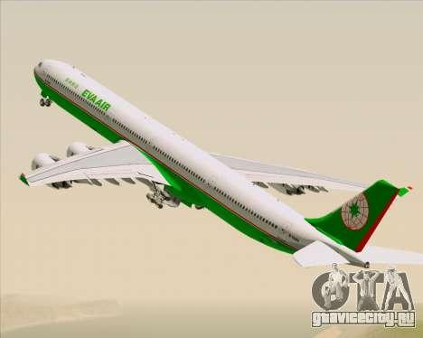 Airbus A340-600 EVA Air для GTA San Andreas