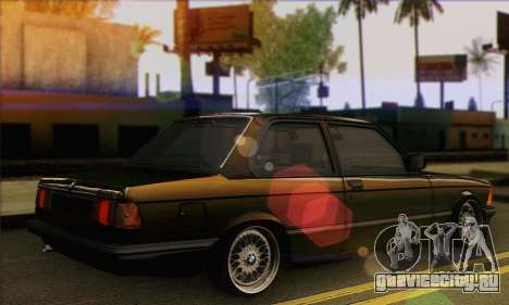 BMW 3 Series (E21) для GTA San Andreas вид слева