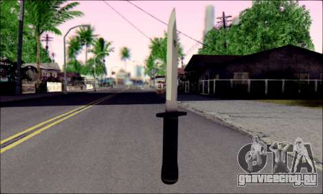 Knife from Death to Spies 3 для GTA San Andreas
