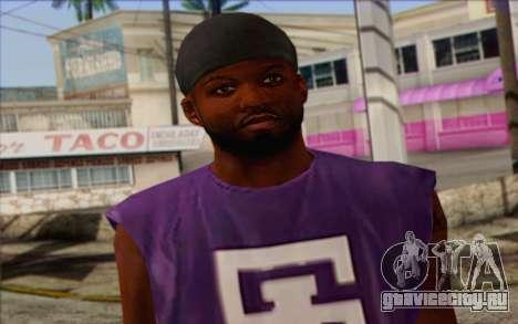 Ballas from GTA 5 Skin 1 для GTA San Andreas третий скриншот