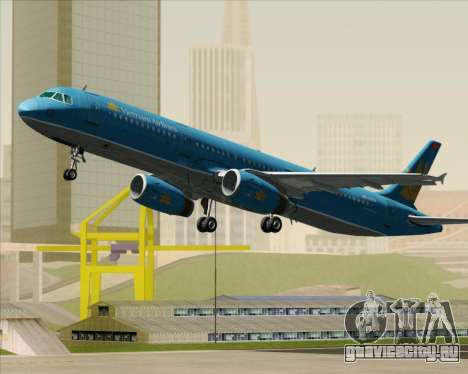 Airbus A321-200 Vietnam Airlines для GTA San Andreas