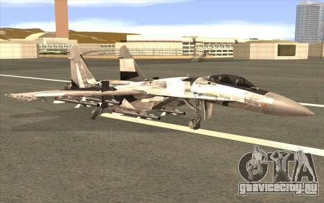 Sukhoi SU-35 BF3 для GTA San Andreas