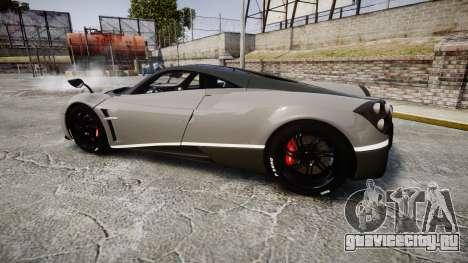 Pagani Huayra 2013 Carbon для GTA 4 вид слева