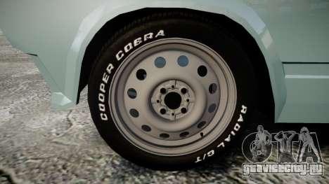 ВАЗ-2104 хулиганский азербайджанский стиль для GTA 4 вид сзади
