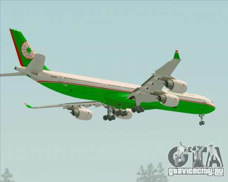 Airbus A340-600 EVA Air для GTA San Andreas колёса