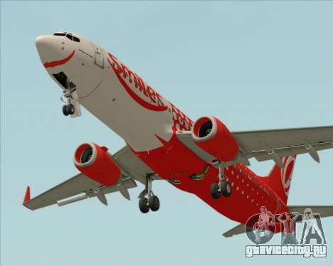 Boeing 737-800 Gol Transportes Aéreos для GTA San Andreas двигатель