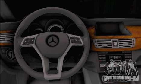 Mercedes-Benz CLS 63 для GTA San Andreas вид сзади слева