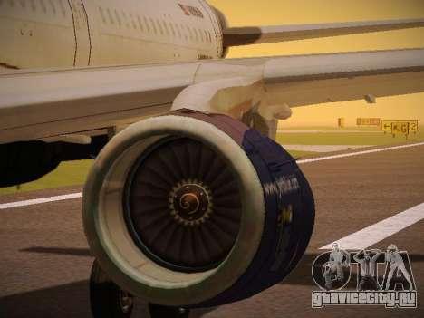 Airbus A321-232 jetBlue Batty Blue для GTA San Andreas колёса