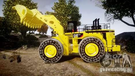 Caterpillar 994F для GTA 4 вид слева