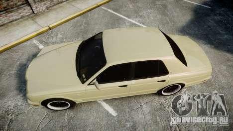 Bentley Arnage T 2005 Rims1 Black для GTA 4 вид справа