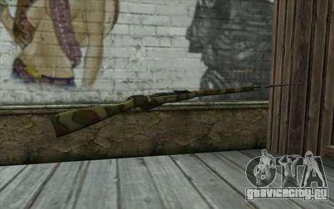 Винтовка Мосина v12 для GTA San Andreas второй скриншот