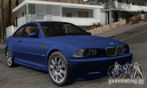 BMW E46 M3 для GTA San Andreas