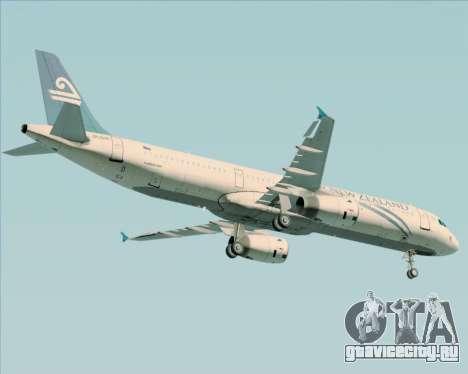 Airbus A321-200 Air New Zealand для GTA San Andreas вид снизу
