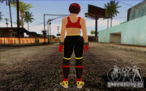 Mila 2Wave from Dead or Alive v8 для GTA San Andreas второй скриншот