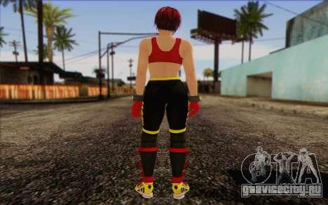 Mila 2Wave from Dead or Alive v8 для GTA San Andreas второй скриншот