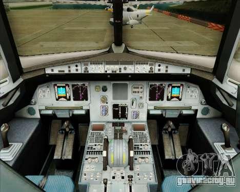 Airbus A320-200 Tigerair Australia для GTA San Andreas салон