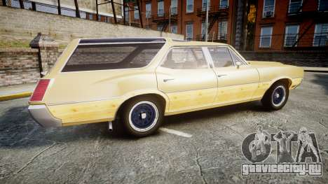 Oldsmobile Vista Cruiser 1972 Rims1 Tree5 для GTA 4 вид слева