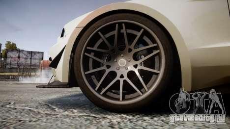 Ford Mustang GT 2014 Custom Kit PJ4 для GTA 4 вид сзади