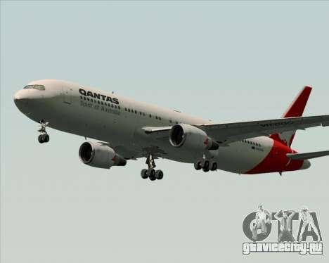 Boeing 767-300ER Qantas (Old Colors) для GTA San Andreas колёса