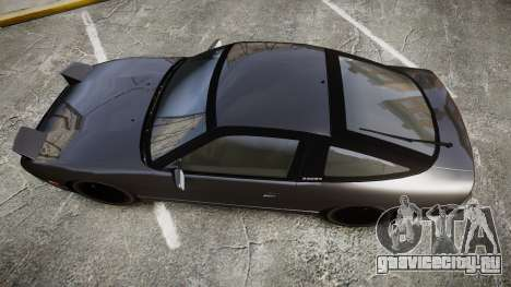 Nissan 240SX S13 для GTA 4 вид справа