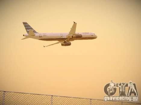 Airbus A321-232 jetBlue Airways для GTA San Andreas вид справа
