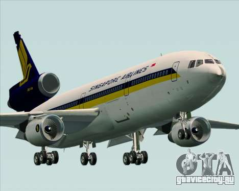 McDonnell Douglas DC-10-30 Singapore Airlines для GTA San Andreas