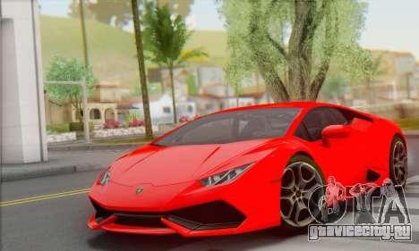 Lamborghini Huracan 2014 Type 2 для GTA San Andreas