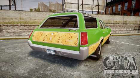 Oldsmobile Vista Cruiser 1972 Rims2 Tree6 для GTA 4 вид сзади слева