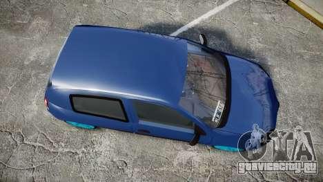 Renault Clio Mio 2014 для GTA 4 вид справа