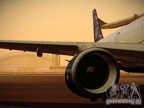 Airbus A321-232 jetBlue Whole Lotta Blue для GTA San Andreas колёса