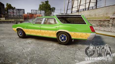 Oldsmobile Vista Cruiser 1972 Rims2 Tree6 для GTA 4 вид слева