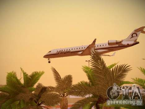 Bombardier CRJ-700 Horizon Air для GTA San Andreas