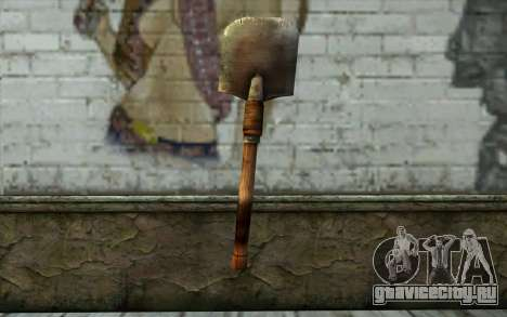 Саперная Лопатка (Battlefield: Vietnam) для GTA San Andreas второй скриншот