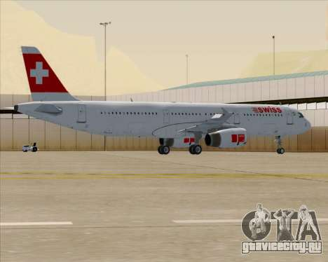 Airbus A321-200 Swiss International Air Lines для GTA San Andreas
