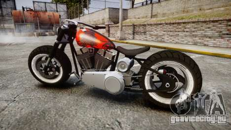 Steel Horse Zombie для GTA 4 вид слева