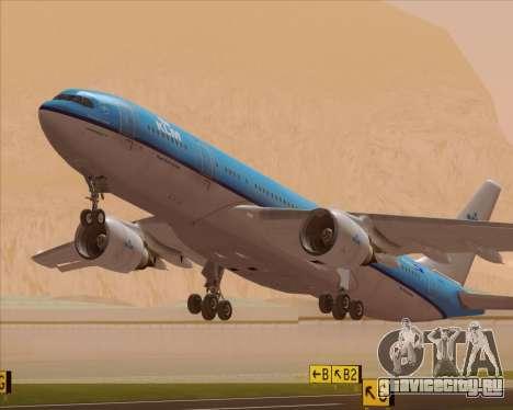Airbus A330-200 KLM - Royal Dutch Airlines для GTA San Andreas