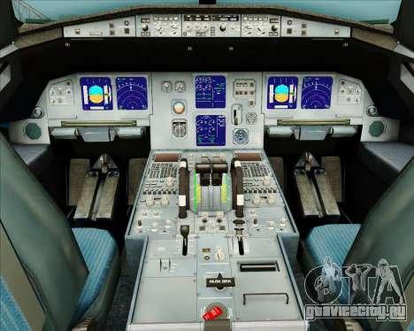 Airbus A321-200 American Pacific Airways для GTA San Andreas салон
