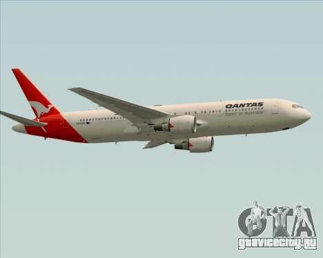 Boeing 767-300ER Qantas (Old Colors) для GTA San Andreas вид изнутри