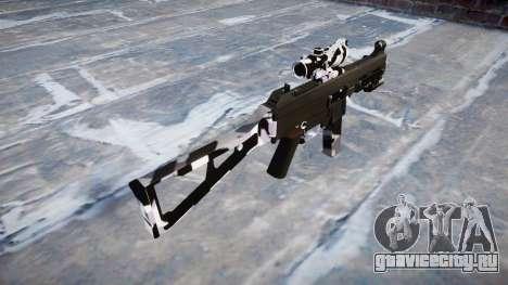 Пистолет-пулемёт UMP45 Siberia для GTA 4 второй скриншот
