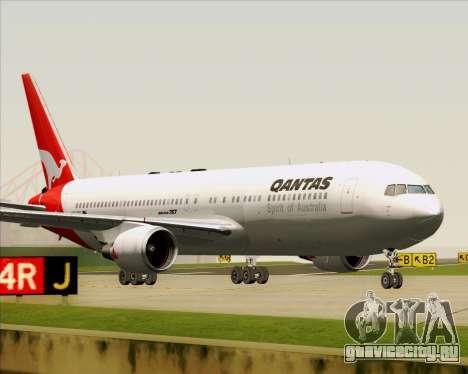 Boeing 767-300ER Qantas (Old Colors) для GTA San Andreas вид слева