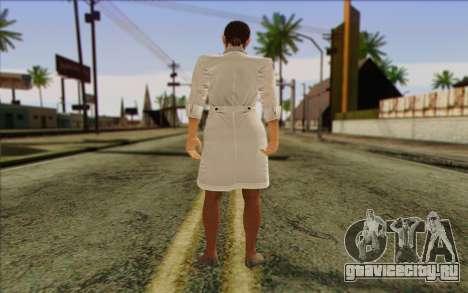 Metal Gear Solid 4 Naomi Hunter для GTA San Andreas второй скриншот