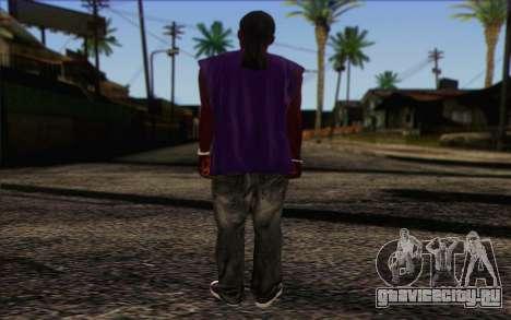 Ballas from GTA 5 Skin 1 для GTA San Andreas второй скриншот