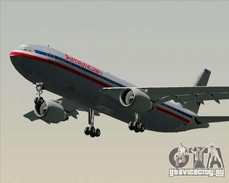 Airbus A300-600 American Airlines для GTA San Andreas вид слева
