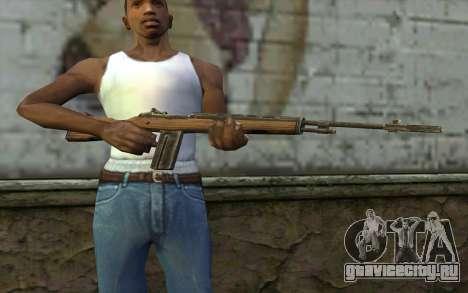 M14 from Battlefield: Vietnam для GTA San Andreas третий скриншот