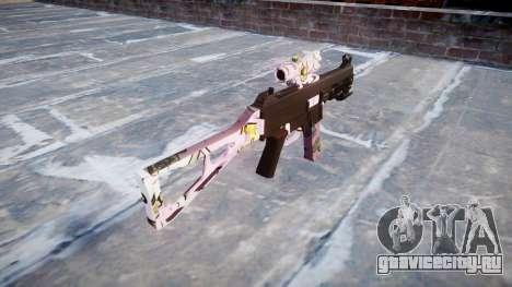Пистолет-пулемёт UMP45 Kawaii для GTA 4 второй скриншот