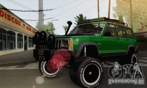 Jeep Cherokee 1998 Off Road 4x4 для GTA San Andreas