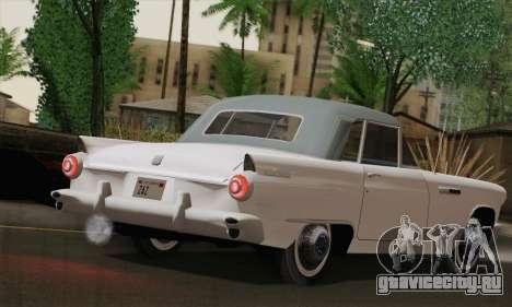 Smith Thunderbolt from Mafia 2 для GTA San Andreas вид сзади слева