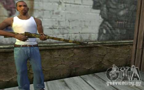 Винтовка Мосина v12 для GTA San Andreas третий скриншот